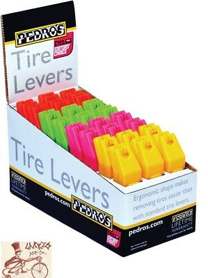 Pedro's Tire Levers 24 X 2 Pack  Assorted Colors Bicycle Tool