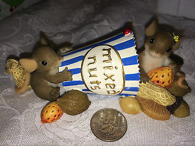 """Charming Tails """"I'M NUTS ABOUT YOU""""  Dean Griff MIXED NUTS"""