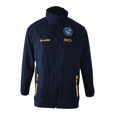 Parramatta Eels NRL 2018 ISC Players Wet Weather Jacket Sizes S-5XL! In Stock!