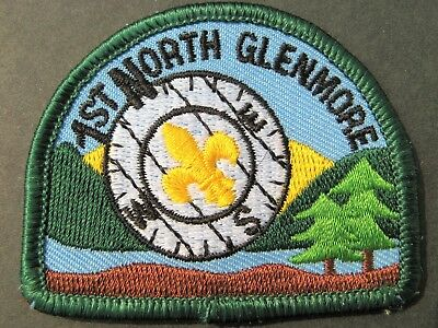 Boy Scouts Canada 1St North Glenmore  Embroidered Patch Cubs Scouting