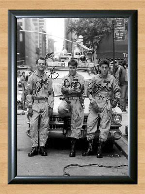 Ghostbusters Bill Murray Signed Autographed A4 Poster Photo Movie Memorabilia