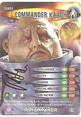 Doctor Who - Joss Agnew signed Battles in Time card