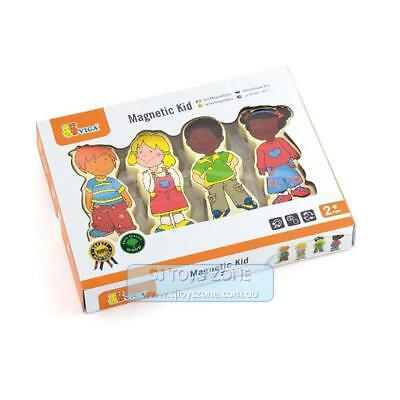 Wooden Magnetic Kids Faces Expression Multicultural Puzzle Educational Game Toy