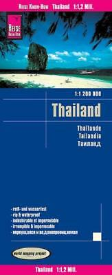 Reise Know-How Landkarte Thailand (1:1.200.000)