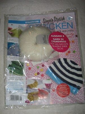 Simple Stylish Stricken Nr. 8, NEU, 1,--