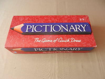 PICTIONARY Vintage BOARD GAME Milton Bradley 1996