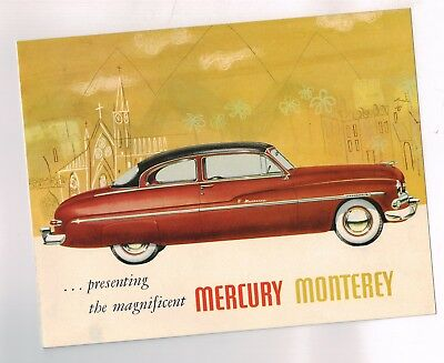 1950 {6-50 issue} MERCURY MONTEREY Brochure / Pamphlet