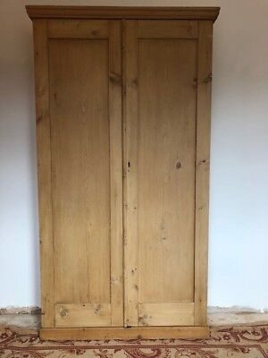 Antique Pine Cupboard with Shelves