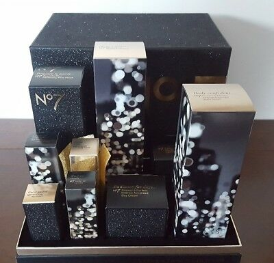 No7 City Lights Limited Edition Beauty Collection Gift Set RRP £141 BRAND NEW