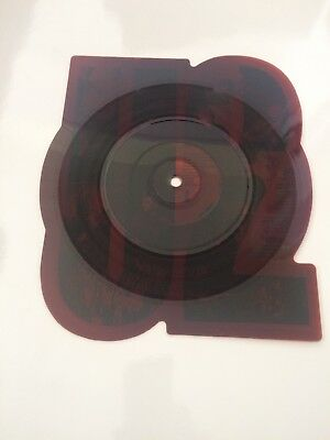 """U2 The Unforgettable Fire 7"""" Shaped Picture Disc"""