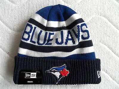 Youth BLUE JAYS Toronto NEW ERA Official BEANIE TUQUE Hat baseball TOP QUALITY !