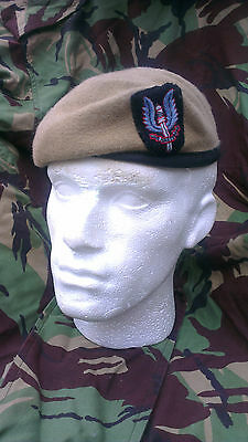 SAS Special Air Service Beret and Cap Badge Size 56 Officer Quality