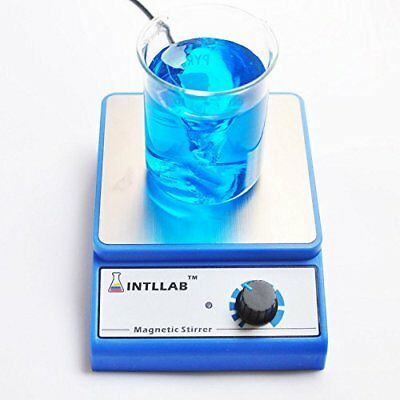 Lab Magnetic Stirrer Mixer Stir Bar 3000 rpm Max 3000 ml Stainless Steel Plate