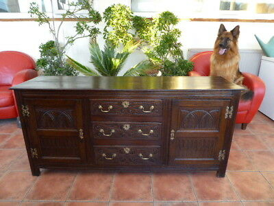 Country Oak  Dresser Base 1780 Free Shipping England