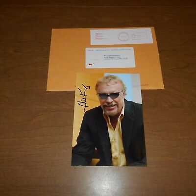 """Philip N. Knight  co-founder of """"Nike""""  Hand Signed Photo w/Envelope"""