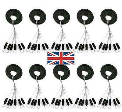 60 Large Soft Rubber  Float Stops  Tackle ,match,waggler,fishing Rigs