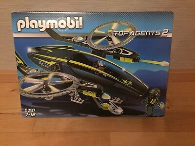 Playmobil Top Agents 2 Magma Masters Razorcopter 5287