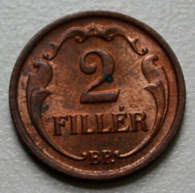 HUNGARY UNGARN, 2 filler fillér, 1940, high grade