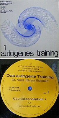 [LP] Autogenes Training,1 Lp Mint! (Ich Habs Gewagt)