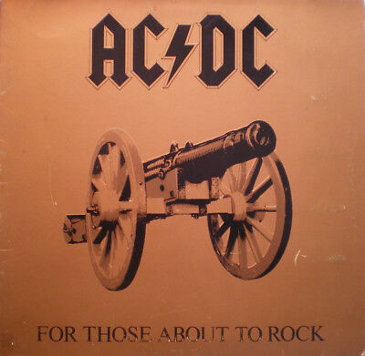 AC/DC - For those about to rock Gatefold LP Vinyl