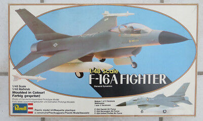F-16A Fighter von Revell,1:48,Rarität 1980,OVP,Artikel-Nr. H-4307,3 Decal-Option