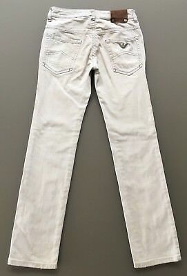 Armani Junior Jeans Boys Light Grey Skinny Jeans Age 8