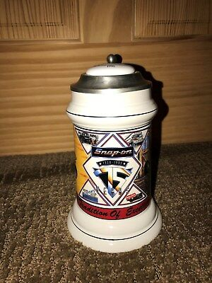 New!!!!  Snap-on Tools Beer Stein Mug 1995 75th Anniversay Ltd Edition - Rare