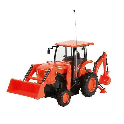 Kubota Remote Control L6060  Model Toy Tractor with Backhoe & Loader Part# J754