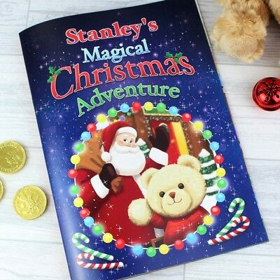 Personalised Magical Christmas Adventure Story Book – Softback Gift Idea