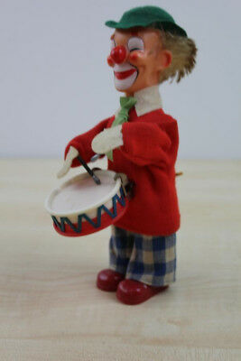 F 055 Max Carl Clown Figur Vintage Tin Toy