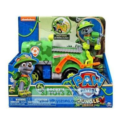 Nickelodeon Paw Patrol Themed Vehicles Jungle Rescue - Rocky Jungle Truck