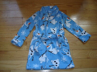 Boys or Girls Disney FROZEN Olaf Robe ~ So Soft ~ Size 4T