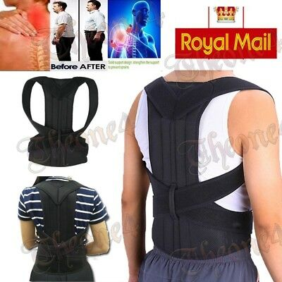 Corset Back Training Posture Corrector Shoulder Brace Correction For Men Women