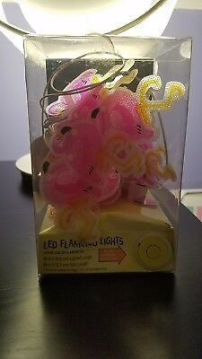 These Flamingo Reflector Lights are a great decoration. Pink