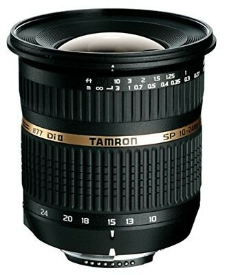 TAMRON ultra wide angle zoom lens SP AF 10-24mm F 3.5-4.5 Di II APS-C for PENTAX