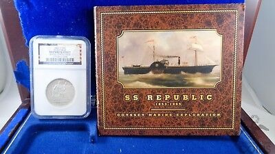 1860 O 50C SS Republic SHIPWRECK EFFECT United States Issue