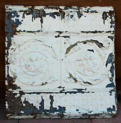 "Vintage 24"" x 24"" Tin Ceiling Tile Panel"