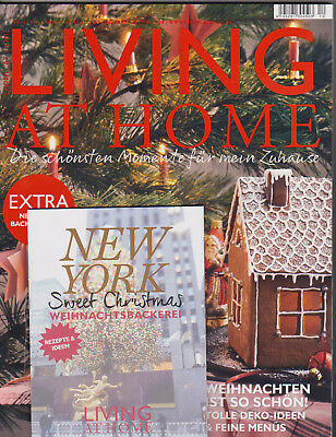 Living at Home Nr. 12/2017 mit Beilage New York Sweet Christmas