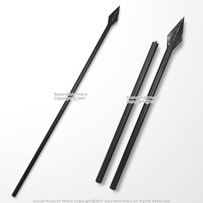 "63"" Foam Spartan Spear Greek 300 Detachable Foam Spear LARP Weapon Movie Prop"