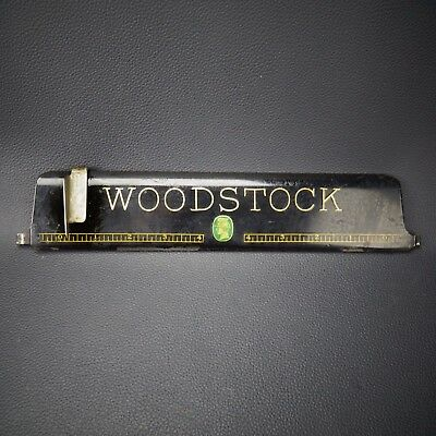 Antique Woodstock Typewriter Paper Guide Part