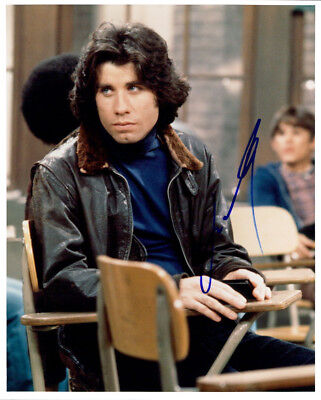 Movies John Travolta Signed 1978 Grease Card #10 Beckett Certified Crazy Price