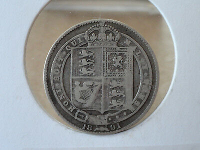 1891 UK Shilling - Silver - Victoria (Great Britain)