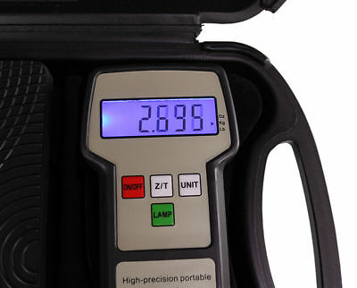Electronic Black Digital Refrigerant Charging Industrial Scale W/Case 220 lbs US