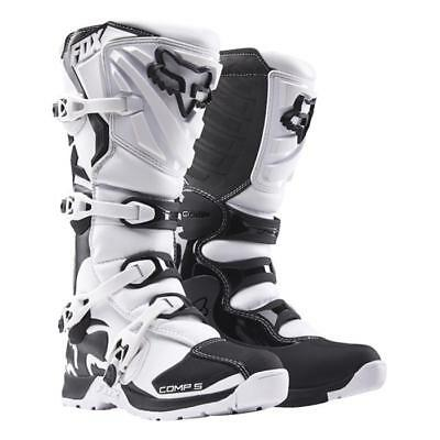 FOX COMP 5 Motocross  Enduro Stiefel weiß Motocross Enduro MX Cross