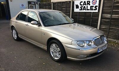 ROVER 75  V6 AUTOMATIC GENUINE 32k ONLY ! RARE TO FIND WITH THESE MILES !