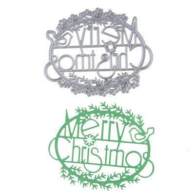 Metal Cutting Dies Stencil Craft Embossing Scrapbooking Christmas Series
