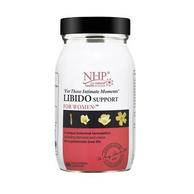 NHP Libido Support Capsules - Pack of 60. Huge Saving