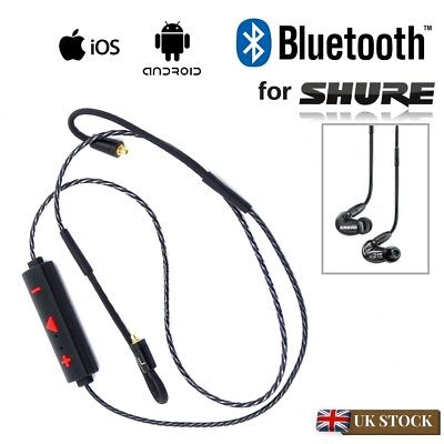 Bluetooth 4.1 MMCX Cable For Shure SE215 SE315 SE425 SE535 SE846 UE900 Earphones