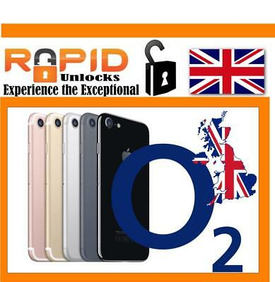 UNLOCK Service for iPhone 7 & 7 PLUS for O2 & Tesco UK Fast 1-3 Days
