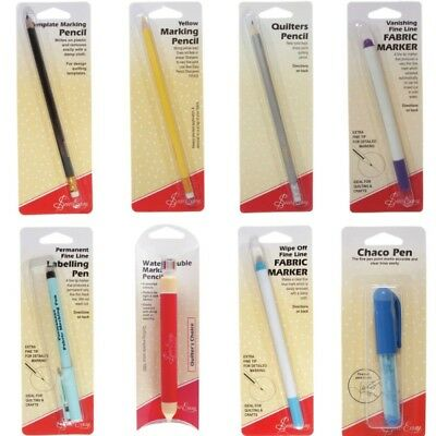 Sew Easy Fabric Marker Pen Pencil Dressmaking Tailors